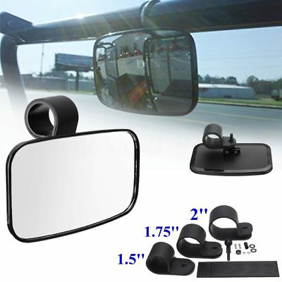 Universal Center Mirror Fit For ATV UTV Off Road Adjustable Wide Clear Rear View
