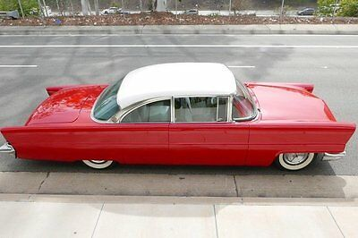1956 Lincoln Premiere Capri 1956 Lincoln Premiere Capri 87000 Miles Red 2 Door 368 V8 Automatic