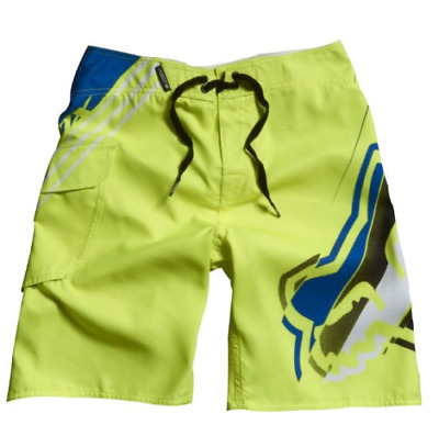 On Sale! Fox Racing Boys Hashed Boardshorts Surf beach Shorts Trunk Size 22-27