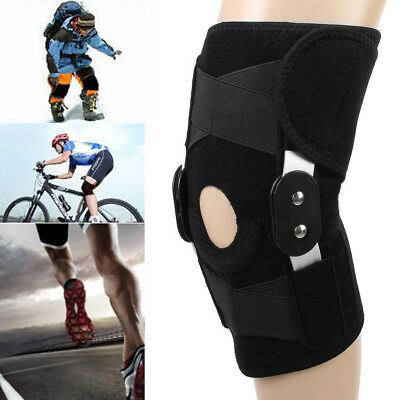 Hinged Knee Pad Protector Support Brace Guard Stabilizer Strap Wrap Pain Relief