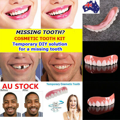 Instant Cosmetic Teeth Fake Tooth Cover False Snap On Perfect Supeaior Teeth