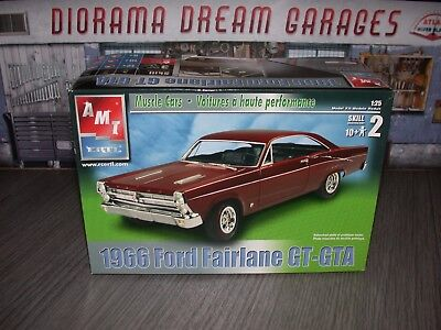 Amt Ertl Muscle Cars 1966 Ford Fairlane Gt-Gta