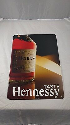 Hennessy metal sign