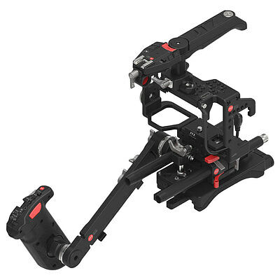 JTZ DP3 Video Camera Cage Handle Grip Kit 15mm DSLR Rig For SONY A7RII A7 A7R II