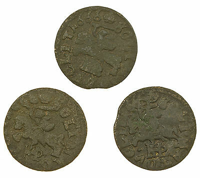 Lithuania, Solidus, 3 Coins, 1660's