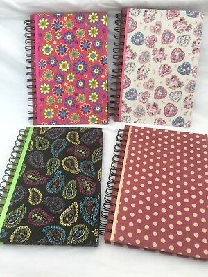 Fabric covered A5 notebook/journal