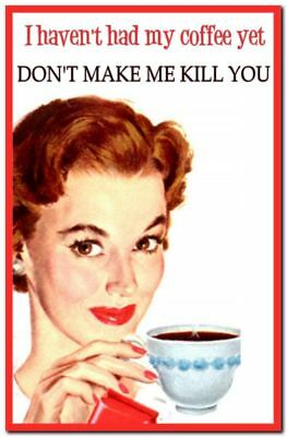 Funny Cute Decor Collectible Kitchen Fridge Magnet - Pinup Housewife Jokes #13