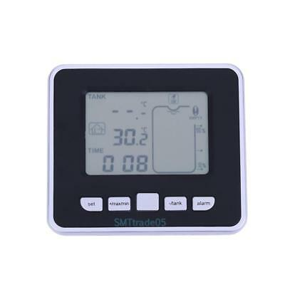 Liquid Level Meter Wireless Ultrasonic Tank with Temperature Sensor Transmitter