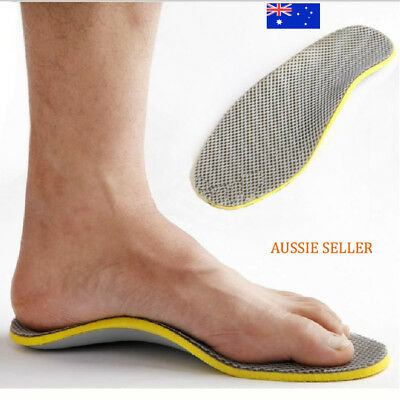 3D Premium Comfortable Orthotic Insoles High Arch Support Pads