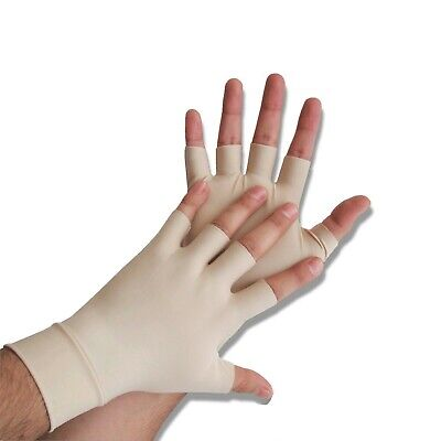 2x Pairs Anti Arthritis Compression Gloves Carpal Tunnel Hand Pain Therapy LARGE