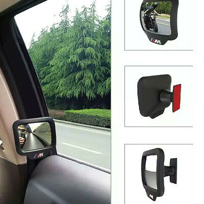 Car Truck Mulit Angle Curve Inner Self-adhesive Second Rows Rearview Mirrors