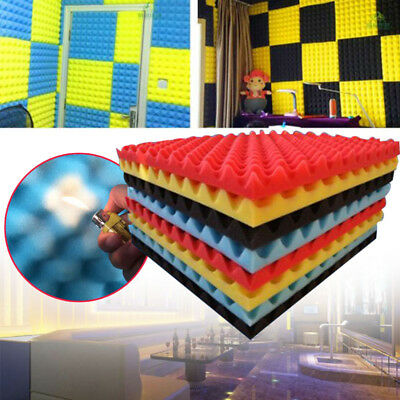 50x50x3cm Soundproof Sponge Sound Absorption Foam Home Acoustic Sound Stop