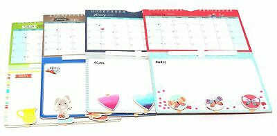 1x 2019 New Hanging Wall Calendar Memo Board Family Organiser With Pen