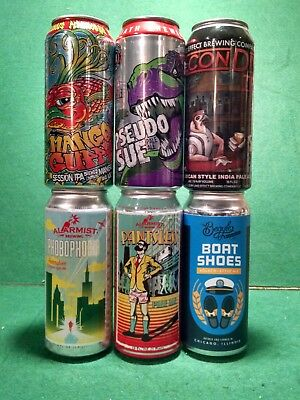 Craft Beer Cans from Chicago- Alarmist, Begyle, Pipeworks - You Pick 3