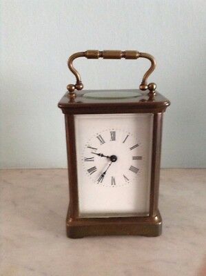 19th Century French Brass Carriage Clock Sennet Freres Good Condition Not Tested