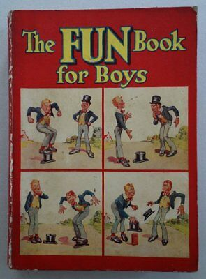The Fun Book For Boys 1937 Dudley Watkins Art DC Thomson Rare VG/F (phil-comics)