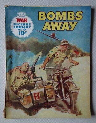 War Picture Library comic #9 (1959) VG- (phil-comics)