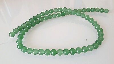 1 LOT DE 52 PERLES en Jade 5/6 mm