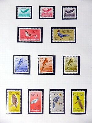 MYANMAR 1964 Birds U/M NB3555
