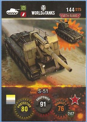 Panini World of Tanks Tradingcard #144 Sowjetische Panzer