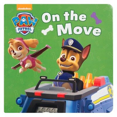 Children's Paw Patrol On the Move! Board Book