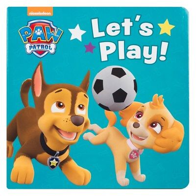 Children's Paw Patrol Let's Play! Board Book