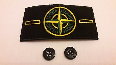 Stone island badge patch with buttons REDUCED PRICE OFFER.