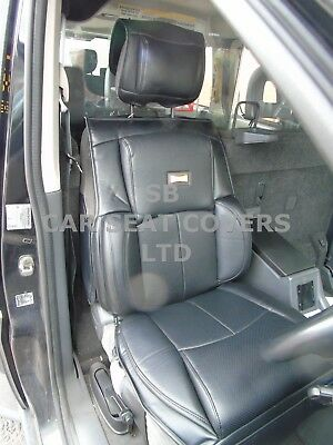 TO FIT A TOYOTA HIACE VAN PANEL SEAT COVERS BLACK DIAMOND MADE TO MEASURE