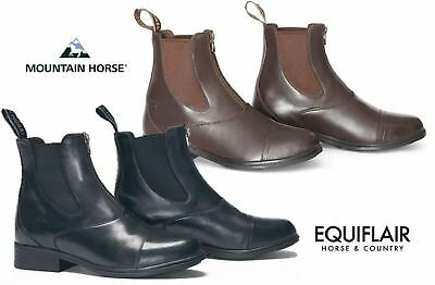 Mountain Horse Prisma Paddock Boot - Black and Brown