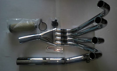 Suzuki GSX1100 80-83 Marving 4-1 'RACE' Full Exhaust system. Chrome