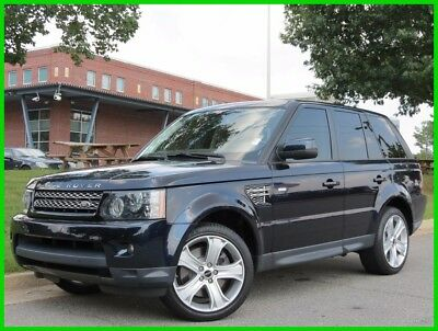 2012 Land Rover Range Rover Sport HSE LUX 5.0L V8 AUTOMATIC 4X4 NAVIGATION BACKUP CAMERA SUNROOF HEATED SEATS
