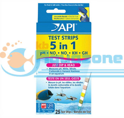 *api* 5 In 1 Test Strips 25 Tests
