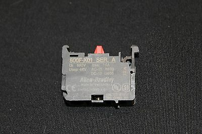 ALLEN BRADLEY 800F-X01 New Contact Block, Series A