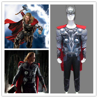 Thor Cosplay 3D Muscle Costume The Avengers Ragnarok Thor 2017 New Armor Suit