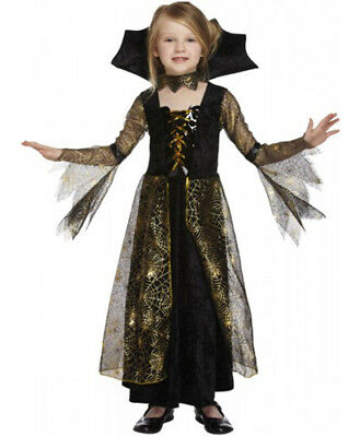 Halloween Vampire Costume Kids.Girls Vampire Spiderella Fancy Dress Costume Kids Child Halloween Party Outfits