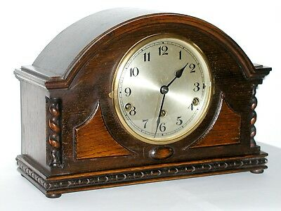 Mantel Pendulum Clock, Westminster Chime, Bavarian style, Excellent C1905 - 1930