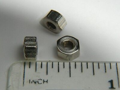 4BA Nuts, Steel, Plated, Qty 50, Live steam, Model Engineering