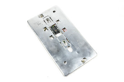 Western Electric Vintage 554 Wall Phone Metal Wall Mount Back Plates with Jack