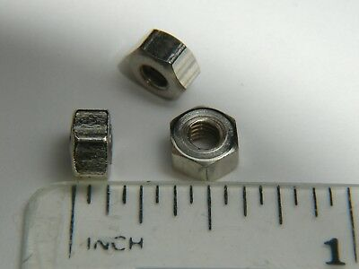 4BA Nuts, Steel, Plated, Qty 100, Live steam, Model Engineering