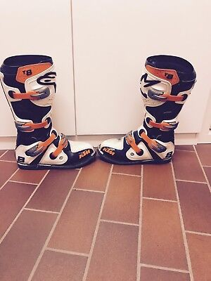 alpinestars stiefel 42 Tech 8 Boot White KTM Sonderedition