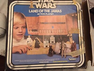Star Wars Vintage LAND OF THE JAWAS w/ box