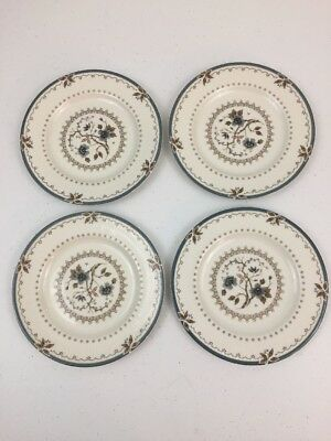 "4 Royal Doulton Old Colony (TC 1005) Bread Butter Plates - 6.5"" / England"