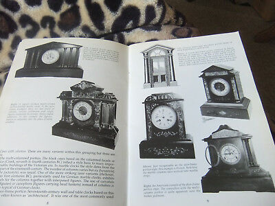 A Fantastic Collectors Reference Bk On Marble Clocks And Their History Vgc