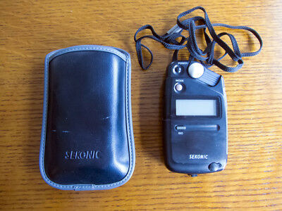 Sekonic Flashmate L-308B Light Meter with case