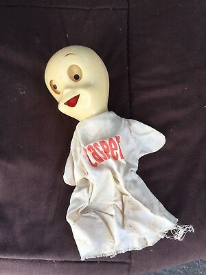 Vintage Casper The Friendly Ghost Toy Doll Hong Kong