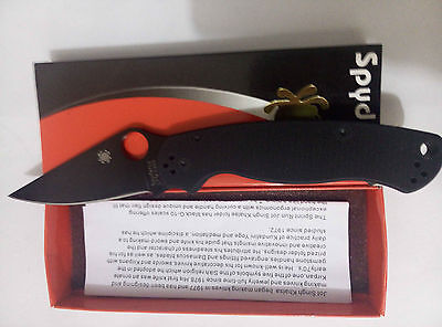 New Box Spyderco Pocket Knife Camping Folding Knife Self Defense C81 Aa15