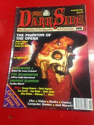 THE DARK SIDE 1st COLLECTORS ISSUE OCTOBER 1990