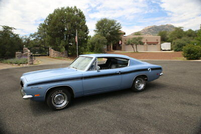 1969 Plymouth Barracuda  1969 Plymouth Barracuda Fastback, Restored in Original, Low Miles, 8.0+ rated