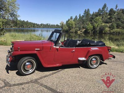 1950 Willys Jeepster  Fully Restored Gorgeous 1950 Willys Jeepster Convertible