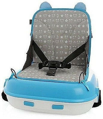 LiL JUMBL BOOSTER SEAT CARRY PACK: Blue Child Up To 45 Lbs FREE 1 DAY SHIPPING